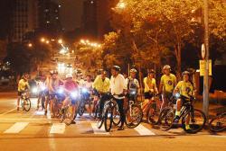 Bike Night Praça do Japão 07-03-2016