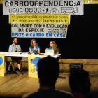 Paineis com Mona Caron, Elly Blue e Thiago Benicchio