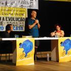 Painéis com Chris Carlsson e Renata Falzoni