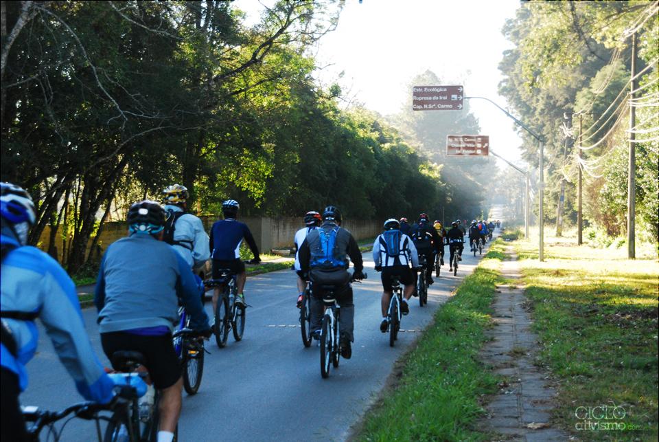 CicloTurismo Estrada da Graciosa até Antonina / 19-07-2014 - 1ª parte.