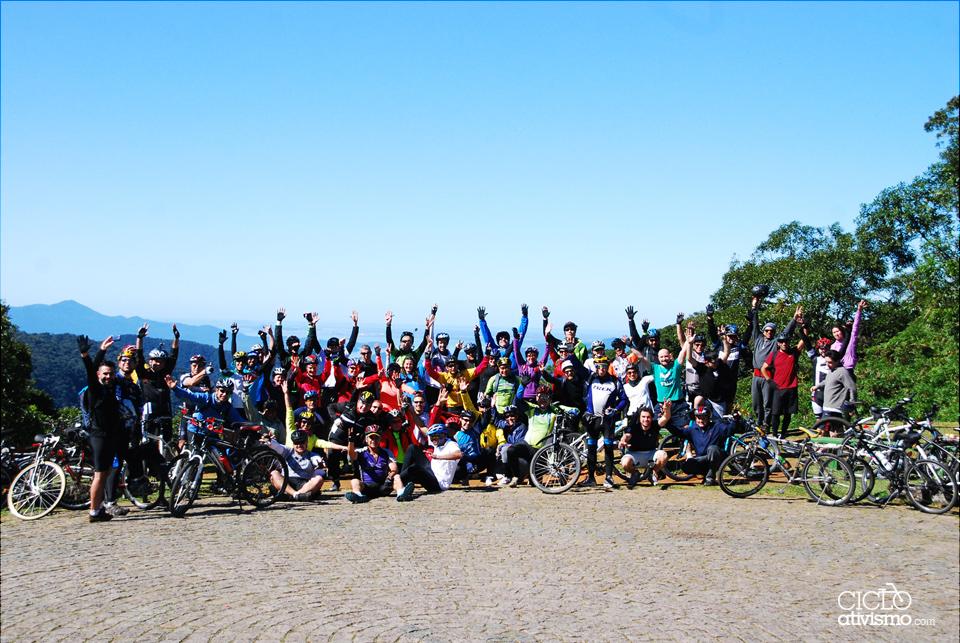 2ª parte - CicloTurismo Estrada da Graciosa até Antonina / 19-07-2014